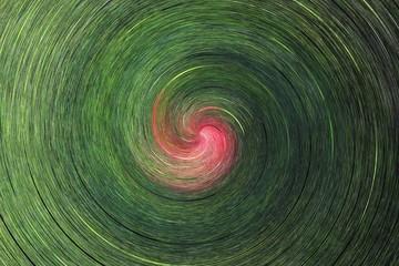 Foto op Canvas Spiraal twist