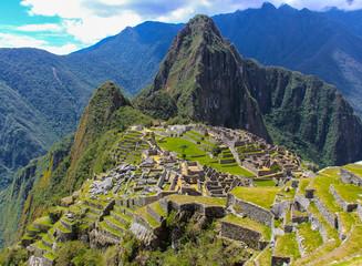 Wall Murals South America Country Machu Picchu, Peru - September 30 2014: Macchu Picchu city