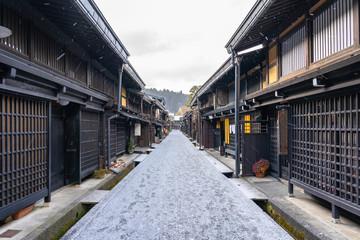 Wall Mural - Takayama the ancient town in Gifu Prefecture, Japan