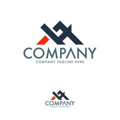 Construction and HM logo template