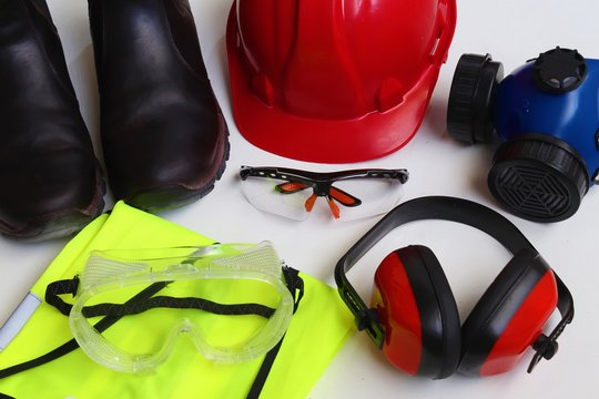 Personal Protective Equipment or PPE for short is mandatory on most work sites.Most construction sites require that a worker at all times at least wears a helmet,protective glasses, and closed shoes