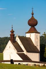 Wall Mural - church in Zehra, Spis region, Slovakia
