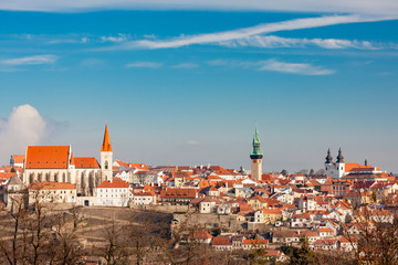 Fototapete - city of Znojmo, Czech Republic