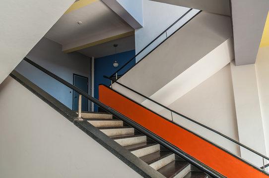 Treppenaufgang Bauhaus Dessau