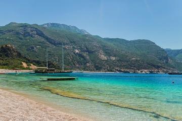 Seascape island in Greece