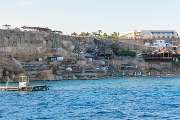 island white sandy beach sea Egypt