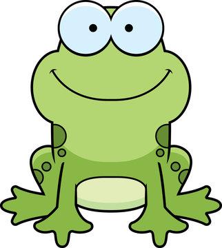 Little Frog Smiling