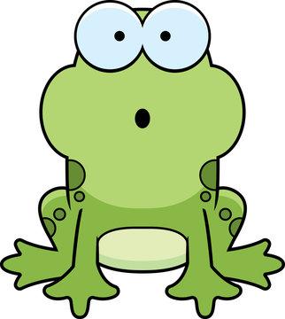 Surprised Little Frog