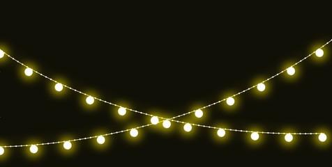 Christmas string lights and holiday lights