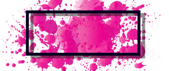 Foto auf Acrylglas Rosa Abstract technology concept