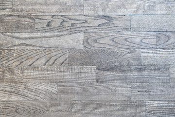 Gray wooden parquet with a beautiful texture