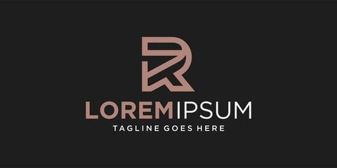 r line logo design inspiration