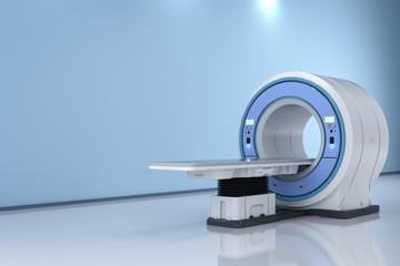 mri scan machine in room