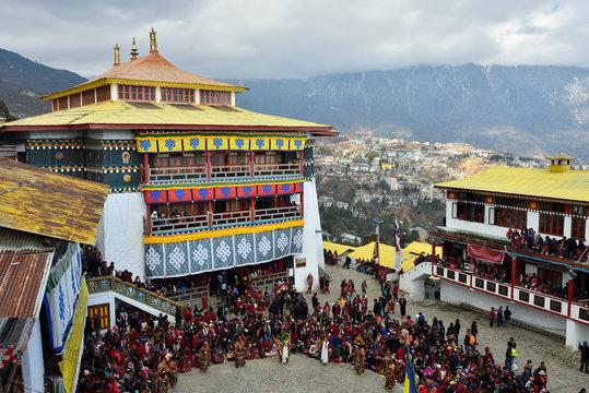 Tawang - Torgya Festival.