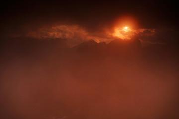 Fototapeta Tatry Wschód Słońca obraz