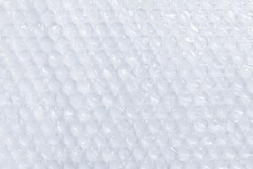 Surface of plastic bubble wrap, copy space background