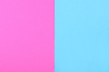pink blue background with copy space, creative idea