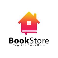 Book Store logo design template