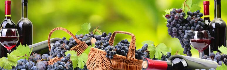 Fototapeta Wine from your favorite garden