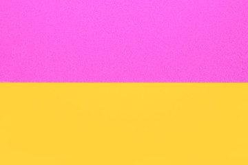 pink yellow background with copy space, creative idea
