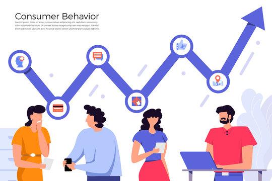 Illustrations consumer behavior