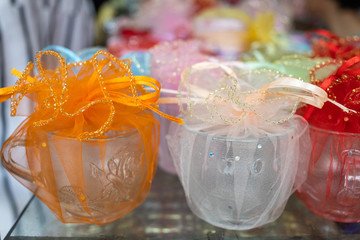 Wedding souvenirs for giving guest