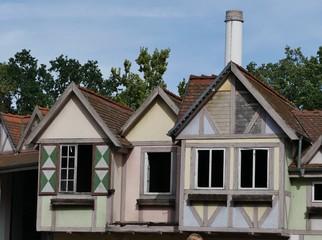 Häuser im Spreepark