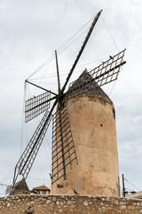 Old windmill in Palma de Mallorca