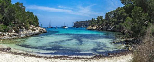 Cozy bay with a sandy beach Caló dels Reis, Mallorca