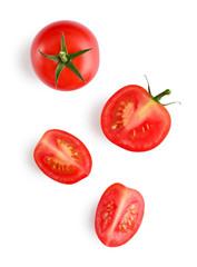 Wall Mural - Fresh red cherry tomatoes