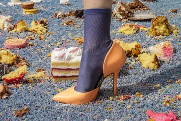 Cake Carpet Heel