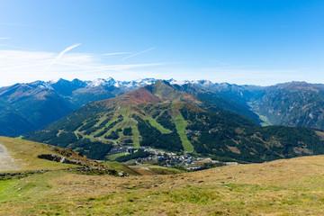 Kathschberghöhe and Katschberg in the Austrian Alps.