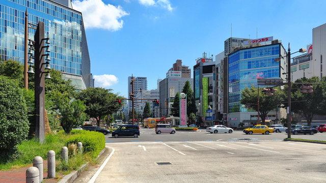 岡山駅前風景1