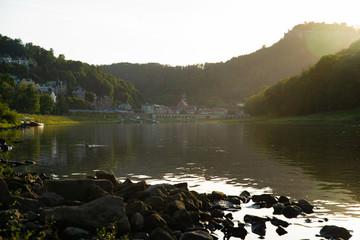 Sächsische Schweiz 2019 Wandern Herbst Tschechien Klamm Wasser Fluss