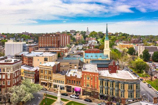 Macon, Georgia, USA downtown cityscape