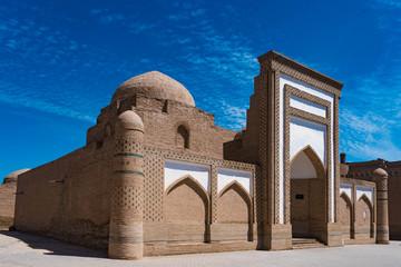 Mosque in the old city (ichan qala) of khiva, uzbekistan Wall mural