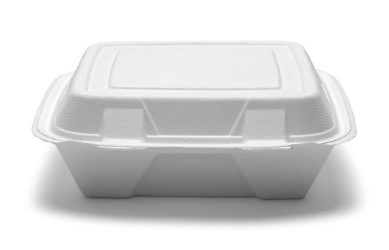 Fast Food Box Front View