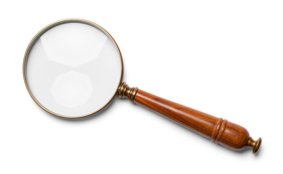 Wood Handle Magnifying Glass