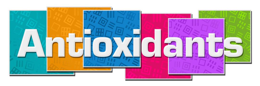 Antioxidants Colorful Texture Blocks