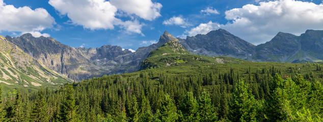 Obraz View of the Tatras mountains. Poland. - fototapety do salonu