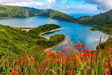 """Lagoa do Fogo"" in São Miguel Island, Azores"