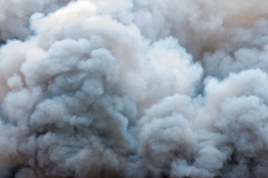 Close up background of abstract smoke,Smoke like clouds background,Bomb smoke background,Smoke caused by explosions.