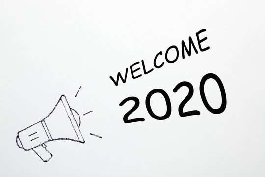 Welcome 2020 Concept