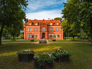 Historic Town Hall of Dargun, Mecklenburg-Pomerania, Germany