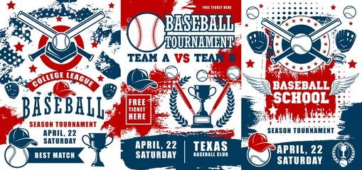 Baseball sport school, team tournament