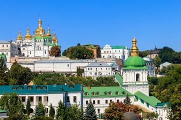 Wall Murals Kiev View of the Kiev Pechersk Lavra, also known as the Kiev Monastery of the Caves in Ukraine