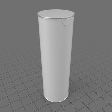 Tall chip tube