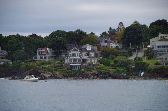 House luxury estates on the coast coastal living New England style