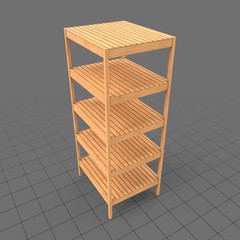 Wooden shelf 1
