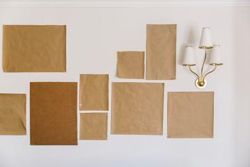 Frame Organization On Wall